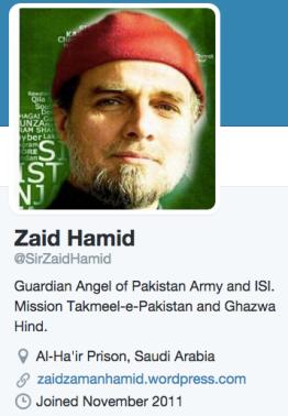 Zaid Hamid (Twitter)